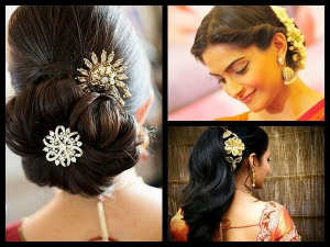 12 Awesome Saree Hairstyles That You Have Never Seen Before