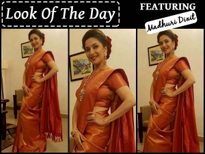 Madhuri Dixit Her Desi Look Is You Need See Today